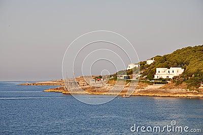 Manacore Bay, Apulia, Italy