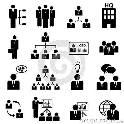 Free Management Icon Set Stock Photo - 27148460