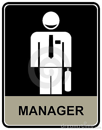 Manager, office worker - icon