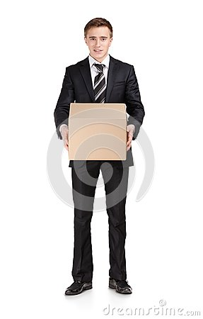 Manager with parcel box