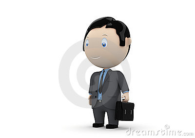 Manager. Social 3D characters