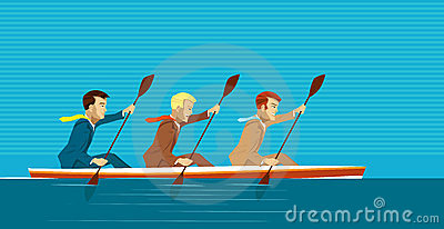 Managers and kayak