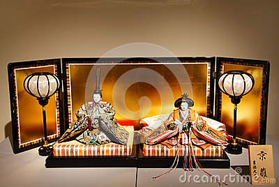 Ishogi Shinno-Kazan: Imperial Dolls Editorial Photo