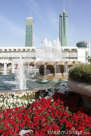 Manama city center view