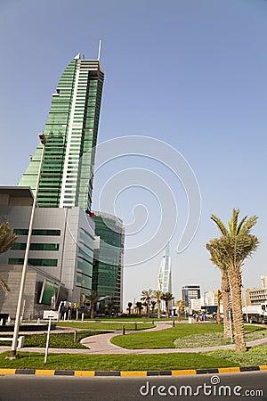 Manama City Scenery, Bahrain