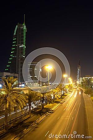 Free Manama Cityscape - Night Scene Stock Photos - 6933763