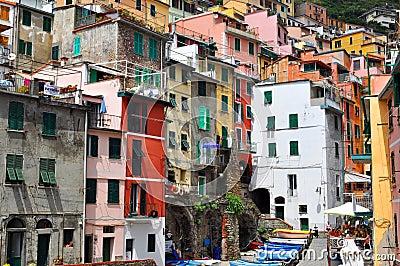 Manarola Cinque Terre, Italy Editorial Stock Image