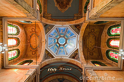 Manaus Cathedral Ceiling Brazil