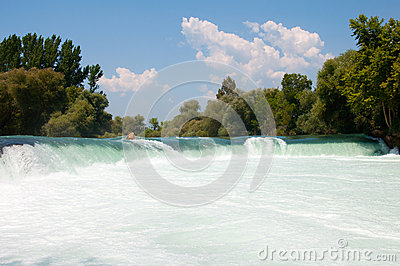 Manavgat Waterfall. Turkey Stock Photo - Image: 25465250