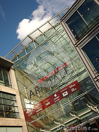 Manchester Arndale Centre Editorial Photography
