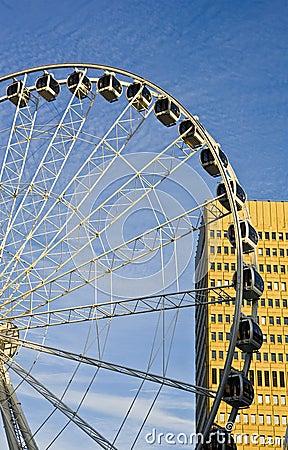 Manchester ferris wheel