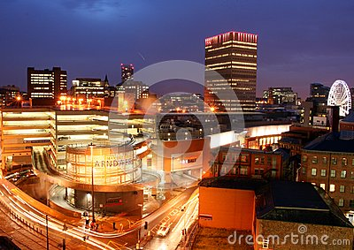 Manchester Skyline Editorial Image