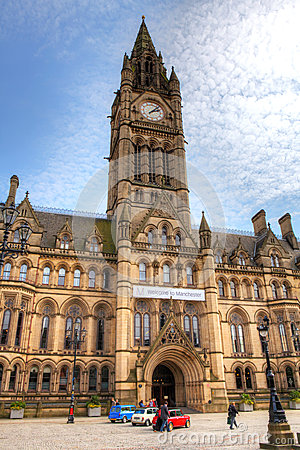 Manchester Town Hall Editorial Photo