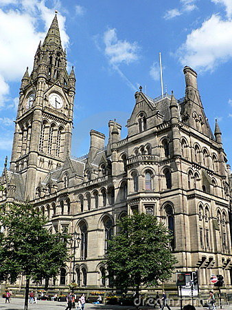 Free Manchester Town Hall Royalty Free Stock Photo - 3916305
