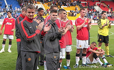 Manchester United Editorial Stock Image
