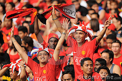 Manchester United Asia Tour 2009 Editorial Stock Image