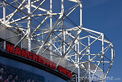 Manchester United Football Stadium Editorial Image