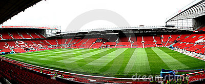MANCHESTER UNITED STADIUM Editorial Stock Image