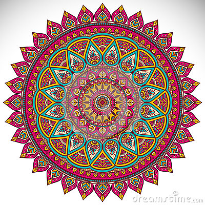 Free Mandala Royalty Free Stock Images - 55736029