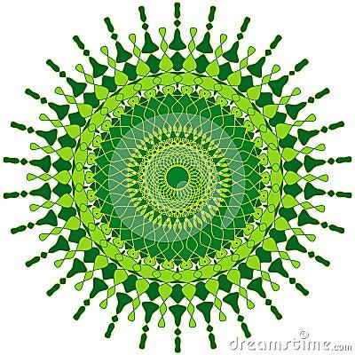 Mandala artistique