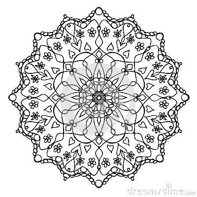 Mandala Black And Whit...