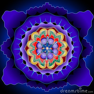 Mandala core Vector Illustration