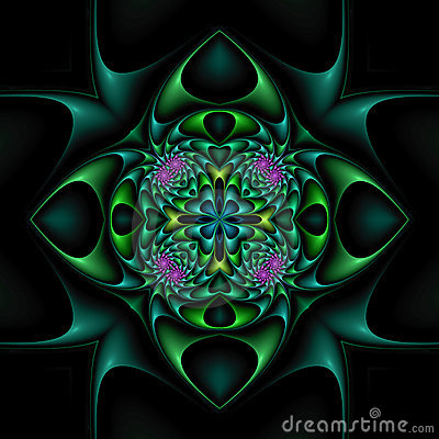 Mandala floral nervosa