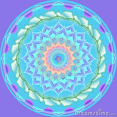 Mandala Round Ornament Pattern Floral Drawing