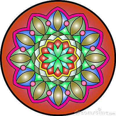 Free Mandala4 Royalty Free Stock Photos - 4115298
