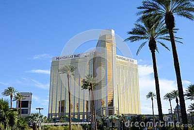 Mandalay Bay Hotel Las Vegas Editorial Stock Photo