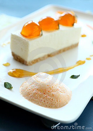 Mandarin Cheese Cake