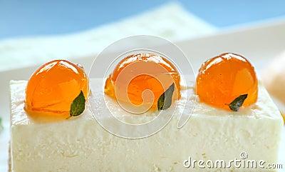 Mandarin Cheese Cake