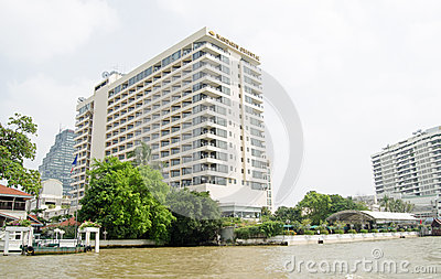 Mandarin Oriental Hotel, Bangkok Editorial Stock Image