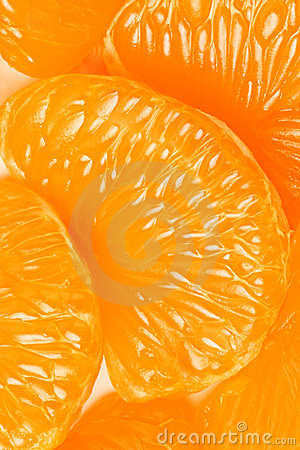 Free Mandarin Slice. Royalty Free Stock Photos - 23639938