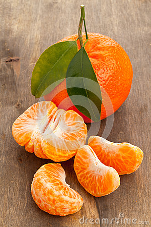Mandarin slices