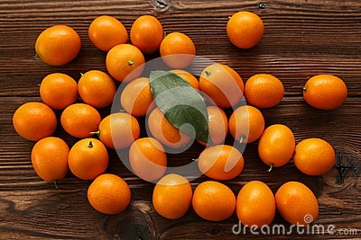 Mandarin on the table