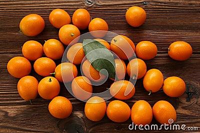 Mandarin on the table