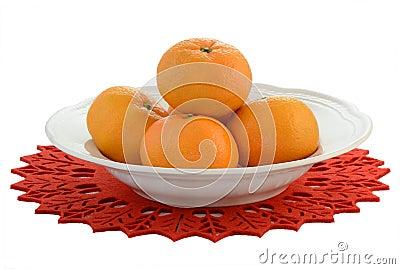 Mandaryn pomarańcze