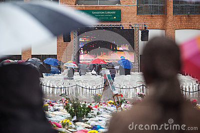 Mandela memorial day Editorial Photography