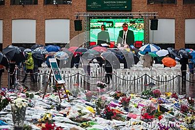 Mandela memorial day Editorial Photo