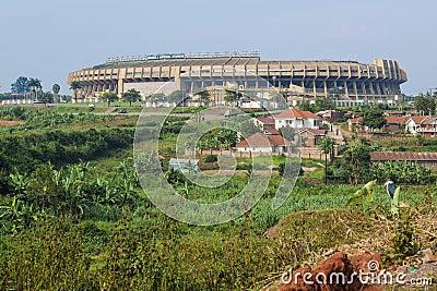 Mandela National Stadium Uganda Editorial Photography