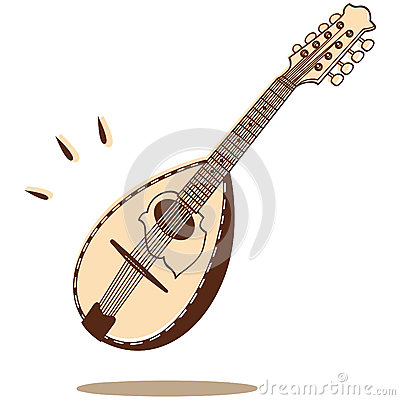 Mandolin vector
