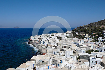 Mandraky, Nisyros, Typical Island in Greece