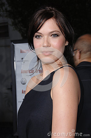 Mandy Moore,Pop Stars Editorial Stock Photo
