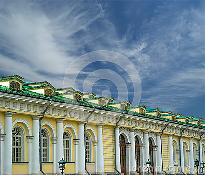 Manege Exhibition Hall in Moscow. Russia