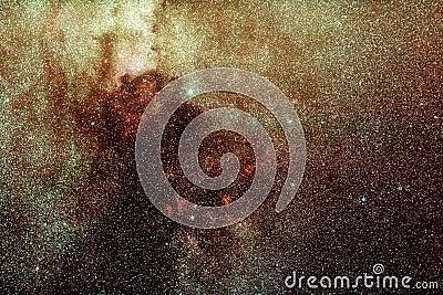 Maneira leitosa no Cygnus