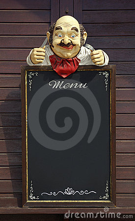 Manequim do menu