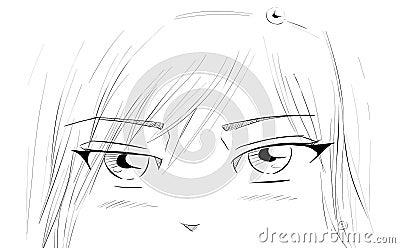 Manga ματιών