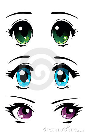 Manga eyes set