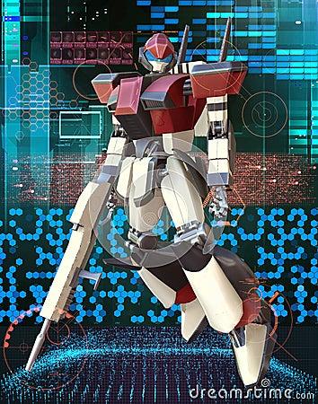 Manga giant robot